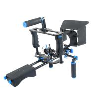 Wholesale Promotional Dslr Kits Shoulder Mount Dslr Rig + Camera Cage + Follow Focus + Matte Box from china suppliers