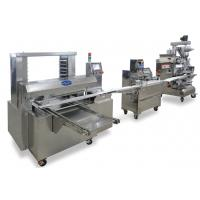 Wholesale 2 Hoppers Cake Maker Machines Dry or Wet Filling 6 Independent Motors from china suppliers