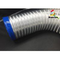 Wholesale All Sizes Multi Function Semi Rigid Aluminum Air Duct / Flexible Air Intake Duct from china suppliers