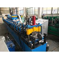 Buy cheap Cr12 Roller Stud Roll Forming Machine Double Head Decoiler 5.5kw from wholesalers