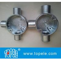 Wholesale Electrical Pipe BS4568  Iron Circular Junction Box from china suppliers