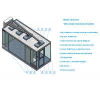 Wholesale Class 100 Sandwich Panel Clean Room With Air conditioner and 99.99% HEPA filter from china suppliers