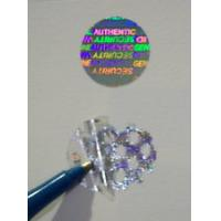 Wholesale Gold Warranty Void Labels / Security Hologram Stickers Solid 3d Image from china suppliers