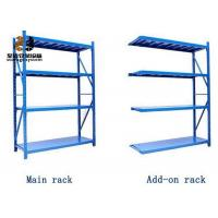Wholesale Steel Powder Coated Galvanized Easy Assemble Selective Pallet Racking from china suppliers