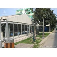 Wholesale Waterproof Transparent Glass Walls Clear Span Tent Marquee UV Resistant from china suppliers