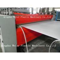 Wholesale 1220mm Plastic Hollow PE / Pp Sheet Extrusion Line 1000mm-5000mm/Min from china suppliers