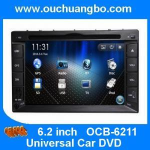 Wholesale Ouchuangbo Universal Car DVD GPS navigation audio radio iPod Bluetooth DVB-T OCB-6211 from china suppliers