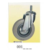 Wholesale Gray rubber Caster wheel screw 001 from china suppliers
