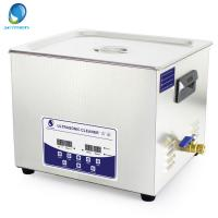Wholesale 15L Fast Cleaning Digital Ultrasonic Cleaner With Degas Function For Oily Parts from china suppliers