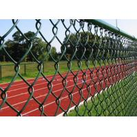Wholesale 40*40mm Anti-Rust Diamond Wire Mesh Fence For Forest Protecting from china suppliers