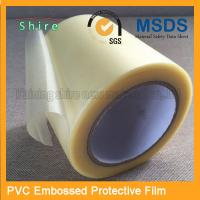 Wholesale Adhesive Embossing PVC Protective Film Roll With High Viscosity from china suppliers