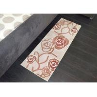 Wholesale Light brown Rose Elegant style Decorative Microfiber Kitchen Mats also for bedroom from china suppliers