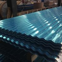 Wholesale Exposed Fastener 12 ft Aluminum Roofing Sheet Panel White / Blue ISO 9001 Approval from china suppliers