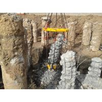 Wholesale KP380A Round Concrete Column Hydraulic Pile Breaker ,  Piles Diameter 600mm - 1800mm from china suppliers
