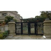 Wholesale Aluminum Collapsible Automatic Motorised Sliding Gate With Photo Cell For Private Area Entry from china suppliers