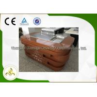 Wholesale Electric Mobile Teppanyaki Grill Equipment 1.4m Sculptured Acrylic Logo from china suppliers