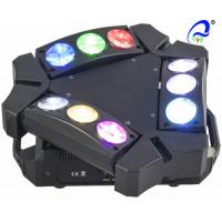 Wholesale 9 * 10W RGBW / White Mini 9 heads LED Spider Moving Head Light Quad - color from china suppliers