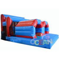 Wholesale Insane Team Running Inflatable Tunnel Obstacle Course Rental With Crawling Tubes from china suppliers
