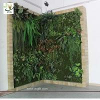Wholesale UVG GRW08 Fake Plant walls Vertical Green Wall System with anti-uv outdoor use from china suppliers