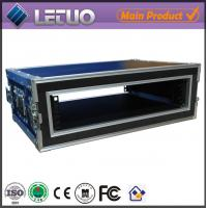 Wholesale LT-FC169 aluminum ata road flight case 2u shock mount flight case rack transport case from china suppliers