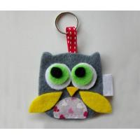Wholesale high quality factory price Eco-friendly Felt keychain factory from china suppliers