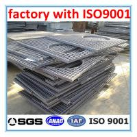 Buy cheap different types of customized grating with ISO9001 from wholesalers