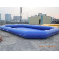 Wholesale Amusement PVC tarpaulin Inflatable water pool 0.6mm - 0.9mm for Summer Aqua Theme Park from china suppliers
