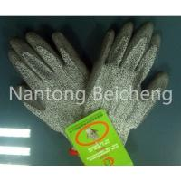 Wholesale Silk Screen PU Coated Glove 13Gauge Jonnyma Seamless with 3 level PU Cut-resistance from china suppliers