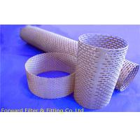 Wholesale Straight Weld Decorative Perforated Metal Tube Oval Shape of Hole from china suppliers
