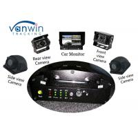 Wholesale VPN Vehicle Tracking Video System 3G Mobile DVR GPS Car Mobile DVR With 4 HD Cameras from china suppliers