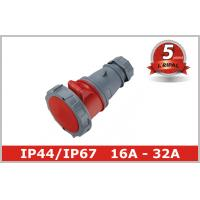 Wholesale Pin and Sleeve Plug Industrial Power Socket IP44 IP67 Coupler Connector from china suppliers