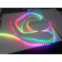 Wholesale WS2812 IP65 waterproof  60leds / m RGB LED Strip Light IC programmable from china suppliers