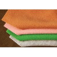 Quality Plush Fleece Knitting Wool Twill Fabric For Lady ' S Coats  148CM Width for sale