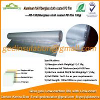 Wholesale Aluminum foil fiberglass cloth coated PE film for rock wool from china suppliers