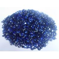 Wholesale Brilliant Cut Lab Created Stones Blue For Custom Jewelry 0.04cts from china suppliers
