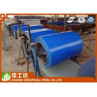 Wholesale 5012 Sea Blue Prepainted Steel Coil , Colour Coated Coils 0.12-3.5mm Thickness from china suppliers