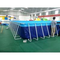 Wholesale Eco Friendly Inflatable Metal Frame Swimming Pool For Water Park from china suppliers