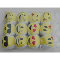 Wholesale Vinyl 2 inch Goofy Funny Face Kick Ball from china suppliers