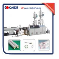 Buy cheap Plastic Pipe Extruder for PPR-GF-PPR Composite Pipe Speed 28m/min KAIDE factory from wholesalers