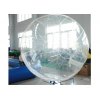 Wholesale Colorful Inflatable Water Ball , Floating Inflatable Hamster Ball For Humans from china suppliers