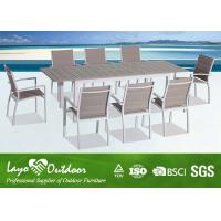 Wholesale Factory audit passed Casual Modern Style with high quality Outdoor Dinning Table set from china suppliers