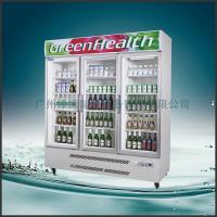 Wholesale Stainless Steel Upright Commercial Display Freezer Tecumseh Compressor -25°C  3 Doors from china suppliers