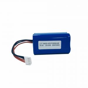Wholesale UN38.3 14.8V 2000mAh Liion Battery Pack IEC62133 Lithium Ion Battery Pack from china suppliers