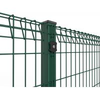 Wholesale Roll Top and Bottom Fence , PVC / Powder Coated Roll Top Welded Wire Fence from china suppliers