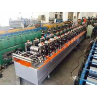 Wholesale 13 Stations Galvanised Stud And Track Roll Forming Machine 3 Kw Hydraulic Cutting from china suppliers