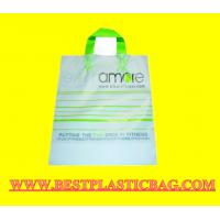 Wholesale HDPE plastic colored shopping bag with vest handle from china suppliers