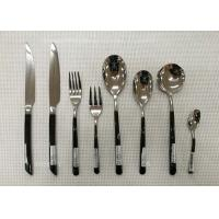 Wholesale Stainless Steel Flatware Sets of 13 Pieces Black-Plated Handles Knives Forks Spoons from china suppliers