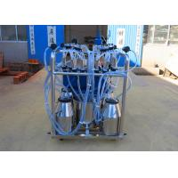Wholesale Stainless Steel Milk Bucket Mobile Milking Machine , Eletric and Diesel Motor from china suppliers