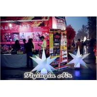 Buy cheap 1m Height Inflatable Light Star, Decorative Inflatable Led Tree for Trade Show from wholesalers