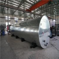 China ISO Steel Plate Container Loading Bitumen Heating Tank With Asphalt Thermometer on sale